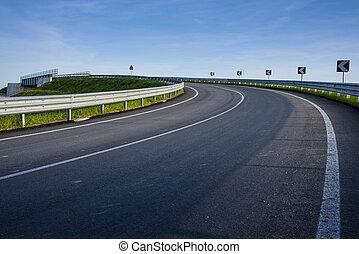 corner road
