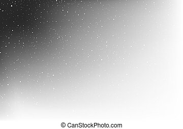 corner witn stars on white background