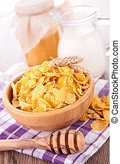 cornflake, śniadanie