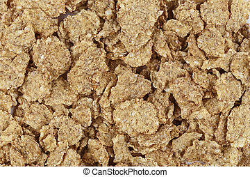 cornflakes as background