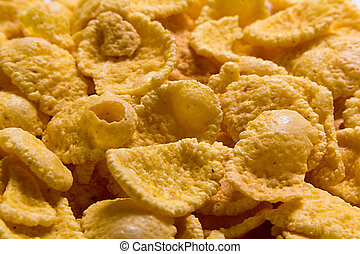 cornflakes background texture