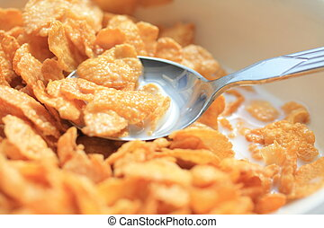 cornflakes - Cornflakes with milk