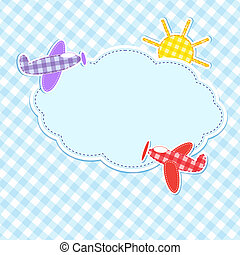 cornice, aeroplani, colorito