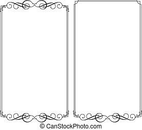 cornice, bordo, disegno