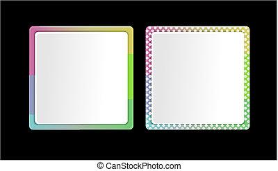 cornice, colorare, set