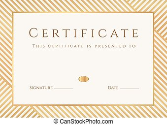 cornice, completion., diploma, certificato