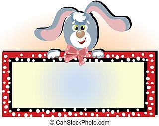 cornice, coniglietto