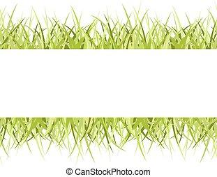 cornice, erba