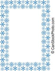 cornice, fiocchi neve