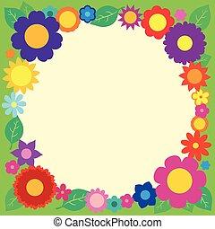 cornice, fiore 5, tema