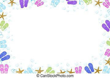cornice, flip-flop