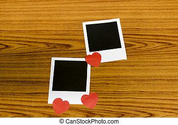 cornice foto, cuore
