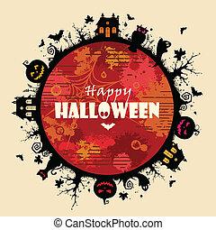 cornice, halloween