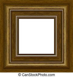 cornice, legno, foto