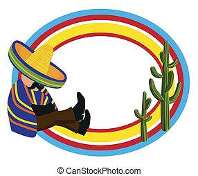 cornice, messicano