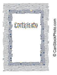 cornice, mosaico
