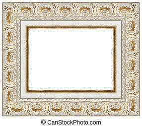 cornice, oro, immagine