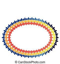 cornice ovale
