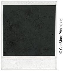 cornice, polaroid
