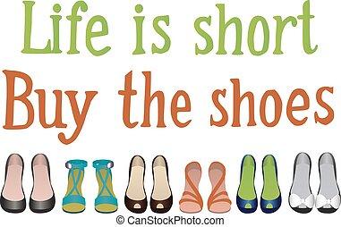 cornice, scarpe