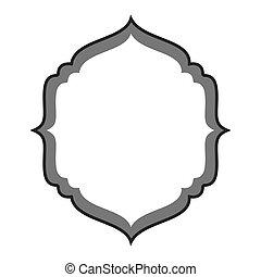 cornice, sigillo, scudo, icona
