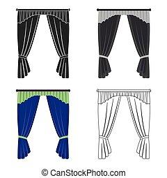 Cornice, single icon in cartoon style.Cornice, vector symbol stock illustration web.