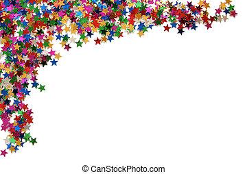 cornice, stelle, celebrazione