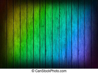 cornice, struttura, multicolor, legno, fondo, pannelli