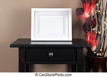 cornice, tavola, immagine