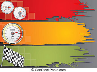 cornice, velocità, tre