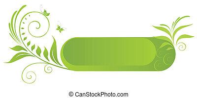 cornice, verde
