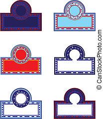 cornici, mosaico