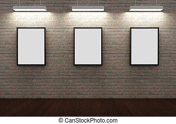 Parete mattone vuoto mensole parete interno mattone vuoto mensole - Cornici finestre in mattoni ...