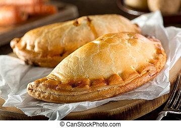 Cornish Pasty - Delicious homemade Cornish pasties with...