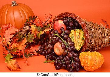 Cornucopia for Thanksgiving