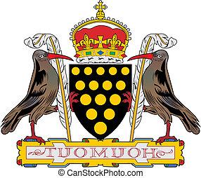 Cornwall duchy coa - Various vector flags, state symbols,...