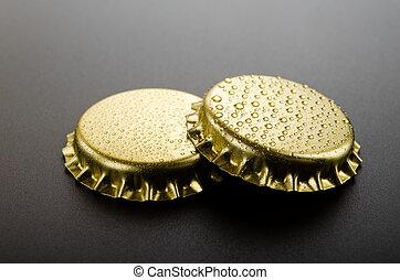 coroa, ouro, bonés