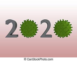 CORONA 2020 concept