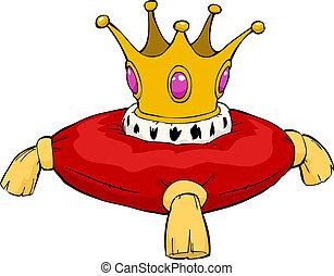 corona, caricatura