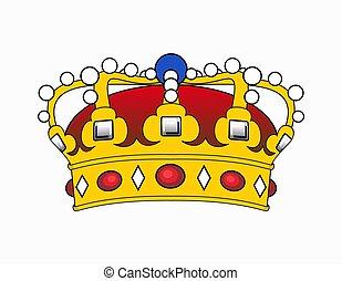 corona, ilustración