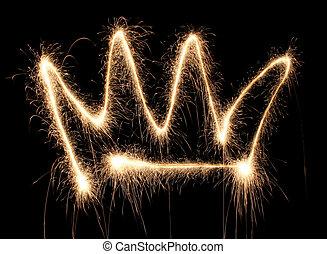 corona sparkler