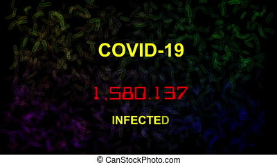 Corona virus covid-19 live stats infected