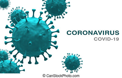 Corona Virus Covid-19 Microbiology And Virology Concept