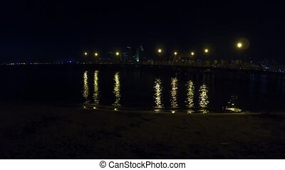 Coronado Pier San Diego night