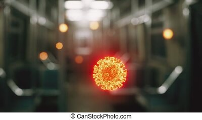 coronavirus, épidémie, voiture, métro, covid-19