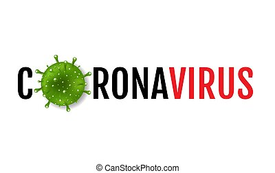 Coronavirus 2019 nCov Poster White Background