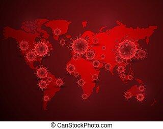 coronavirus background 2 - Illustration Background of Covid ...
