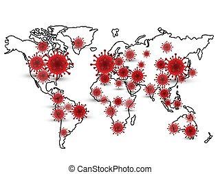 coronavirus background 3 - Illustration Background of Covid ...
