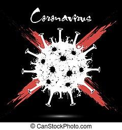 Coronavirus. Covid-19. 2019-nCov