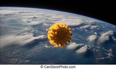 coronavirus, covid-19, astéroïde, la terre